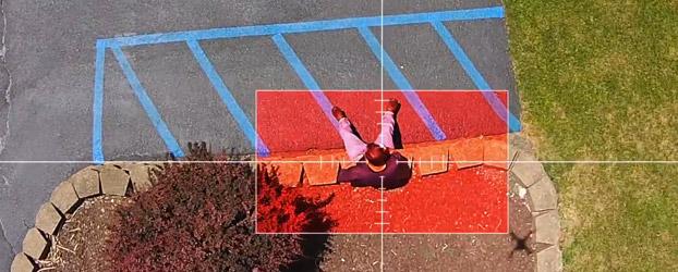 drone-POV