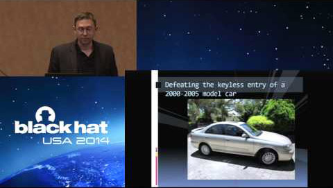 Silvo Cesare at Black Hat Conference