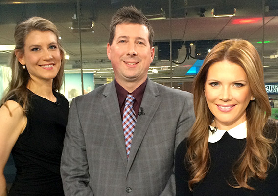 Scott Schober with Trish Regan