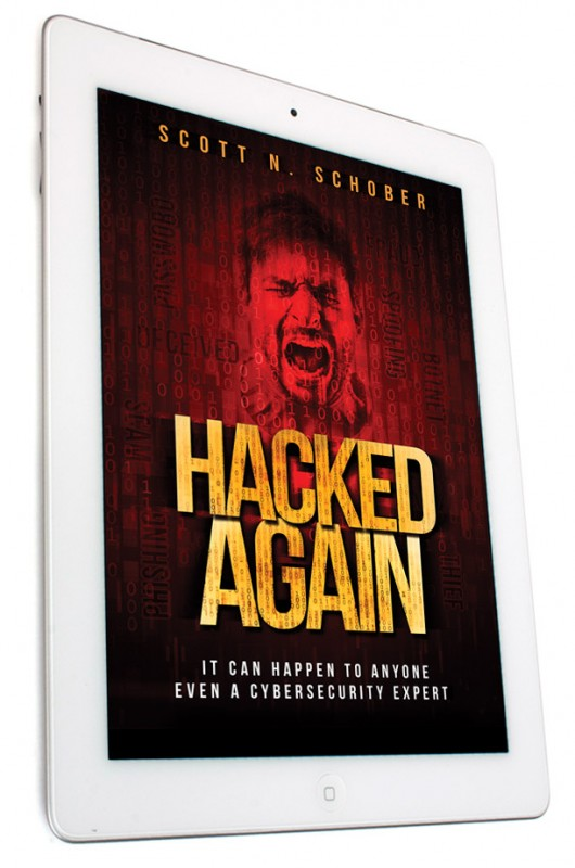 Hacked Again E-Book on iPad
