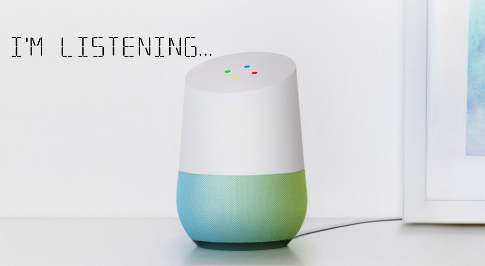 Google Home Always Listening