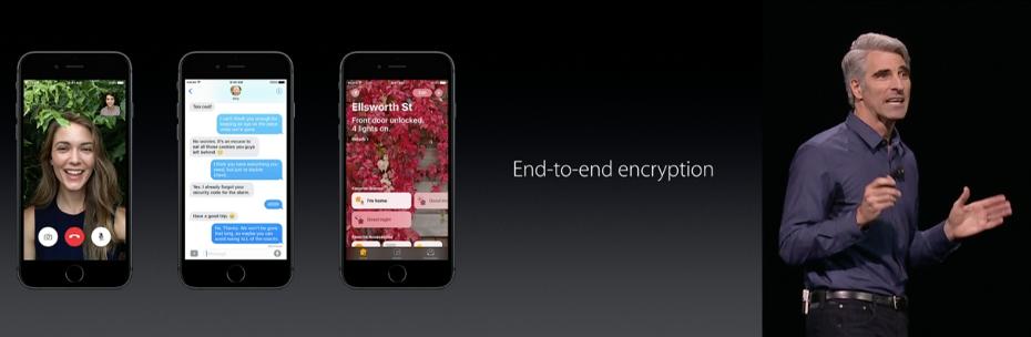 WWDC end-to-end encryption