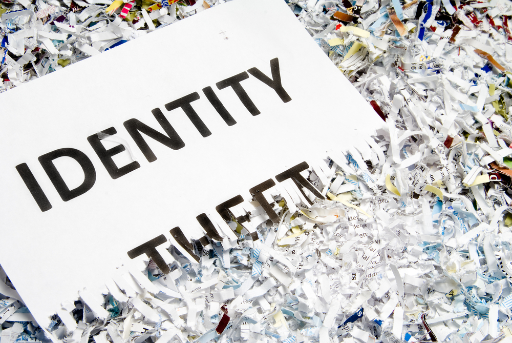 Identity Theft Paper Shredder