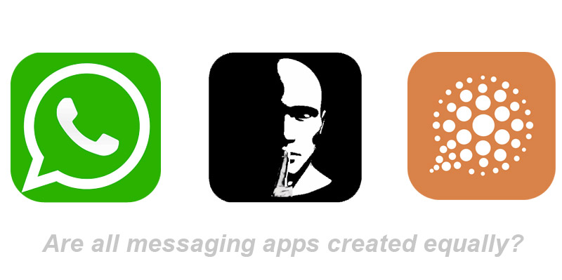 Are all messaging apps created equally?