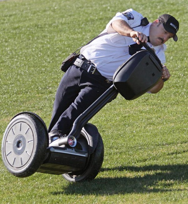 Segway Hacked With or Without Operator Aboard