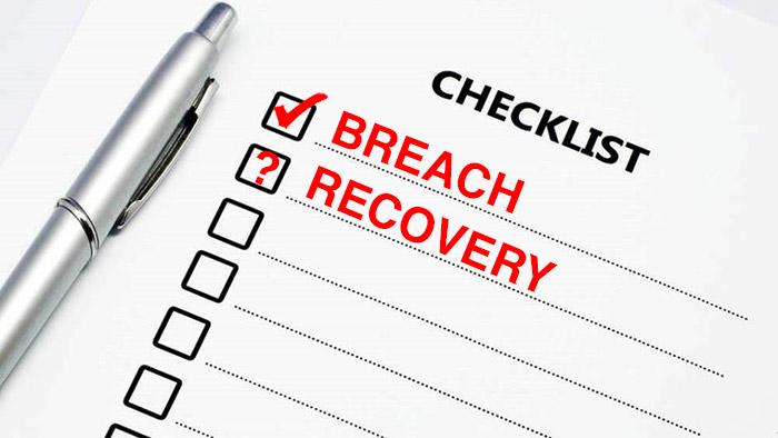 Breach Recovery Checklist