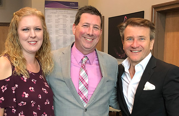 Scott Schober with Robert Herjavec