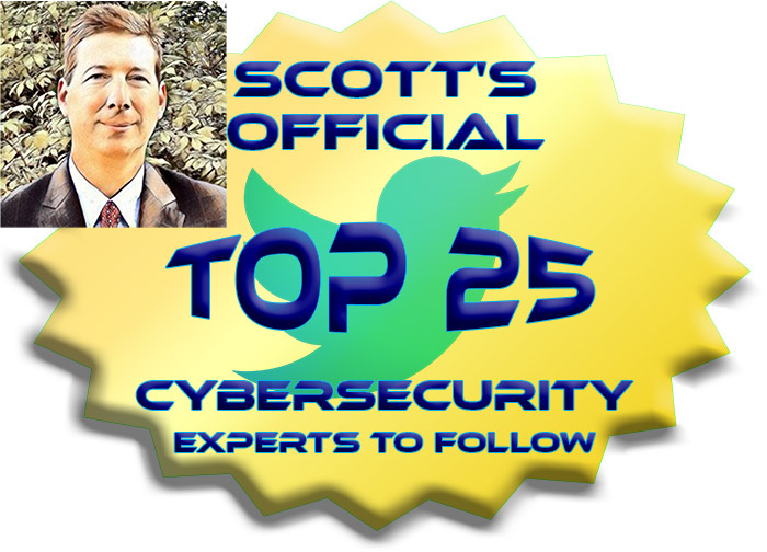 top 25 cybersecurity experts to follow